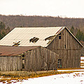Rural Ontario Farm by Elaine Mikkelstrup