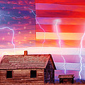 Rural Rustic America Storm by James BO Insogna