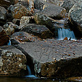 Rushing Water 1 by Geoffrey Bolte
