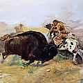 Russell: Buffalo Hunt by Granger