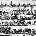 Russia: Procession, 1698 by Granger