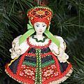 Russian Folk Ornament by Sally Weigand