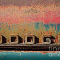 Rusted Antique Dodge Car Brand Ornament by ELITE IMAGE photography By Chad McDermott