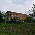 Rusted Barn Roof by Ms Judi