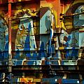 Rusted Graffiti by Jenny May