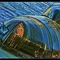 Rusted Submarine by Blake Richards