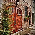 Rustic Door by Steve Nelson