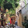 Rustic Greek Cafe by Elaine Haakenson