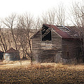 Rustic Old Barn by Don Anderson