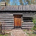 Rustic Pioneer Log Cabin - Salt Lake City by Gary Whitton