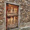 Rustic Stone House With Old by Mats Silvan