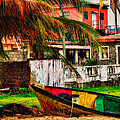 Rustic Village by Daniel Marcion