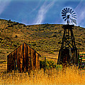 Rustic Windmill by Marty Koch
