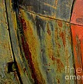 Rusty Abstract by Marilyn Smith