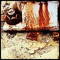 Rusty Bolt Abstraction by Anna Villarreal Garbis