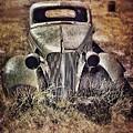 Rusty Car  by Jill Battaglia