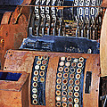 Rusty Cash Register by Phyllis Denton