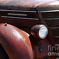 Rusty Old 1935 International Truck . 7d15499 by Wingsdomain Art and Photography