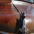 Rusty Old 1935 International Truck Hood Ornament. 7d15506 by Wingsdomain Art and Photography