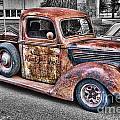 Rusty Old Truck  by Randy Harris
