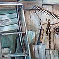 Rusty Tools by Jean Groberg