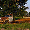 Rusty Truck And Tank by Douglas Barnett