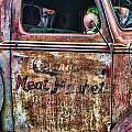 Rusty Truck Door by Randy Harris