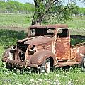 Rusty Truck by Sandra Vasko