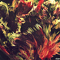 Rusty Tulip by Diane montana Jansson