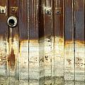 Rusty Wall In The City by Anita Burgermeister