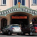 Sabastiani Theatre - Downtown Sonoma California - 5d19273 by Wingsdomain Art and Photography