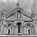 Sacre Coeur Montmartre Paris by Dave Mills