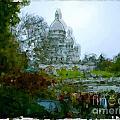 Sacre Coeur Paris - France by Franck Guarinos