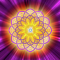 Sacred Geometry 110 by Endre Balogh