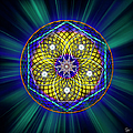 Sacred Geometry 6 by Endre Balogh