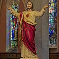 Sacred Heart Of Jesus by Susan Candelario