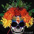 Sacred Heart Sugar Skull Mask by Mitza Hurst