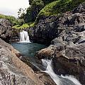 Sacred Pool Falls by Jenna Szerlag