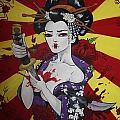 Sacrificial Geisha by Laura Mancini