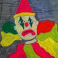 Sad Clown by Robyn Louisell