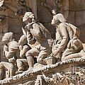 Sagrada Familia Barcelona Nativity Facade Detail by Matthias Hauser