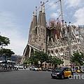 Sagrada Familia Barcelona by Xavier Torres