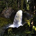 Sahalie Falls by Merrill Beck