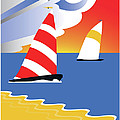 Sailing Before The Wind by Joe Barsin