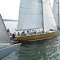 Sailing In Sag Harbor by Colleen Rugg