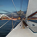 Sailing In The Bay by Jim and Kim Shivers
