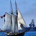 Sailing Ship by Phil Huettner