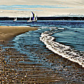 Sailing The Puget Sound by David Patterson