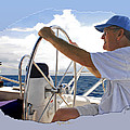Sailing With Capt. Tom by Jeffrey Graves