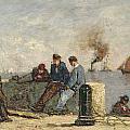 Sailors by Louis Alexandre Dubourg